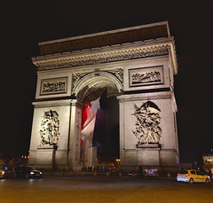 Arc de Triomphe Panorama (Somewhere, Lost) Tags: paris france europe city european hdr panorama