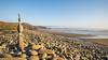 Newgale Sands 1 (Aliy) Tags: southwales wales caravanmotorhome newgale sands beach pembrokeshire pebbles stonesculpture stonebalancing stoneart