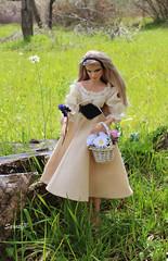Aurora into the wood (saratiz) Tags: aurora sleepingbeauty rosaspina disney cartoon fable barbie barbiemermaid pivotal