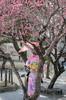 Spring fever (julesnene) Tags: canon7dmark2 canonef35mmf14lusmlens japan japanesegarden juliasumangil flowers julesnene kimono love spring springfever travel tree umbrella kyōtoshi kyōtofu jp