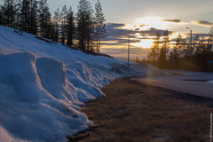 snow defendes (kirill3.14) Tags: ruka trees spring winter finland clouds sky outdoor sunset sun suomi snow