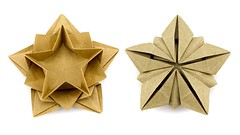 Origami Star Bowl Tutorial (Masoud Hosseini) - Paper Kawaii (paperkawaii) Tags: origami instructions paperkawaii papercraft diy how video youtube tutorial