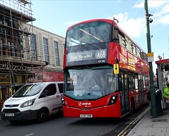 Arriva London South HV386 LC67AHN | 468 to West Norwood (Unorm001) Tags: red london double deck decks decker deckers buses bus routes route diesel transport for tfl hv386 468 hv 386 lc67ahn lc67 ahn