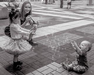 Bubbles are universal.
