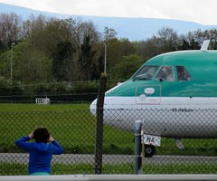 Looking in but not looking out 05-05-2018 (gallftree008) Tags: lookingin but notlookingout 05052018 little boylooks longingly eifna aerlingus stobart atr dublinairport codublin ireland airport aircraft aeroplane aeroplanes aer aerodrome air airlines arty art artofimages aviation artataglance artistic abstract artyfarty blue county classic co dublin dap dub dublincity dublinairportvisitors eire eireann fingal greenery green irish lingus planes plane fence security