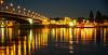 Bonn am Rhein (clemensgilles) Tags: stadt city germany deutschland light inexplore frühling spring illumination illuminated rhein nachtfotografie rheinland bonn