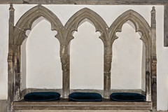 triple sedilia (Jez22) Tags: triplesedilia triple sedilia stjames church interior kent parish egerton village architecture seats seating canopied chancelwall photo copyright jeremysagetriplesediliatriplesediliastjameschurchinteriorkentparishegertonvillagearchitectureseatsseatingcanopiedchancelwallphotocopyrightjeremysage