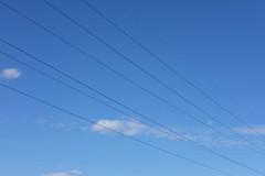 g e o m e t r y (vasil_sidarok_photo) Tags: geometry lines wires sky minsk belarus fujifilm fuji xt1 fujinon 5may2018