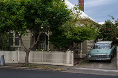 Seddon (Westographer) Tags: seddon melbourne australia westernsuburbs suburbia parked ford fordfalcon fordfalconstationwagon house home