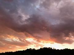 Sunset extreme... (anubis131) Tags: poetry colorful artphotography iphotograph germany anubis1301 freudenbergerpiller heikefreudenberger abstrakt abstract impressionen impressions sun sonne lichtstimmung abendhimmel wolken extremeclouds extremesky extremesunset redsky himmel brennend burningsky sunset grandios