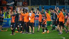 BOG06490 (anton.bogodvid) Tags: sonya7m2 beroflex beroflex500mmf8 football ukraine dinamo shakhtar stadium fire fireshow fan fans cup
