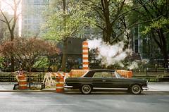 it's actually spring 2018 (cinema film) (NYC Macroscopist) Tags: spring film cinestill50d cinestill 50mm nyc vintage midtown newyork steam manhattan