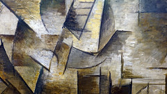 Picasso, The Guitarist (detail)