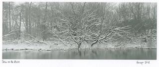 Snow on the Avon