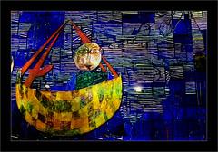Série Atelier des Lumières : N°3 - La barque - (Jean-Louis DUMAS) Tags: peinture abstract abstraction artiste artist artistique art peintre