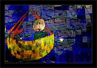 Série Atelier des Lumières : N3 - La barque -
