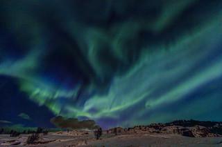 Aurora borealis HDR 1
