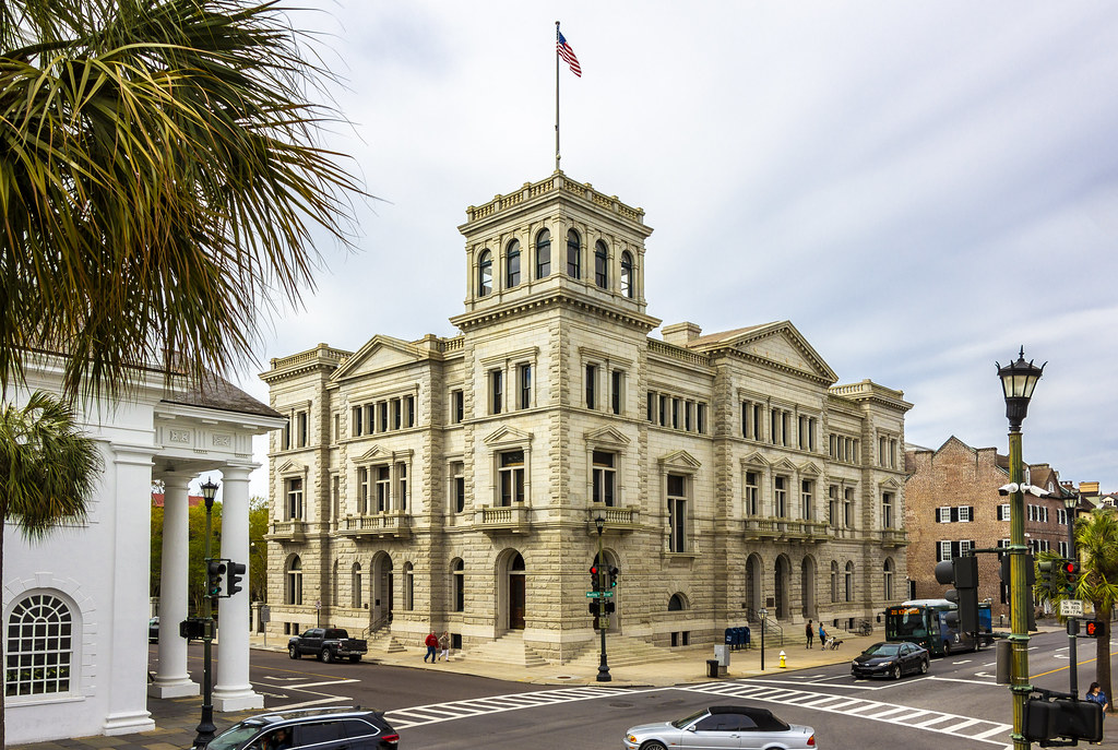 The World's Best Photos of charleston and courthouse