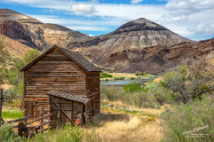 Owyhee Country (Gary Randall) Tags: gar10623 oregon easternoregon ranch farm barn architecture history landscape owyheeriver owyhee