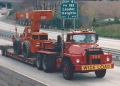 Mack DM w/steel hood (PAcarhauler) Tags: mack truck semi trailer tractor