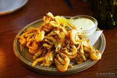 20180510-55-Fried prawns at Kensington Street Social in Sydney (Roger T Wong) Tags: 2018 australia iv kensingtonstreetsocial metabones nsw newsouthwales rogertwong sigma50macro sigma50mmf28exdgmacro smartadapter sonya7iii sonyalpha7iii sonyilce7m3 sydney food restaurant shrimps