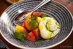 20180510-58-Burrata and tomatoes at Kensington Street Social in Sydney (Roger T Wong) Tags: 2018 australia iv kensingtonstreetsocial metabones nsw newsouthwales rogertwong sigma50macro sigma50mmf28exdgmacro smartadapter sonya7iii sonyalpha7iii sonyilce7m3 sydney burrata food restaurant