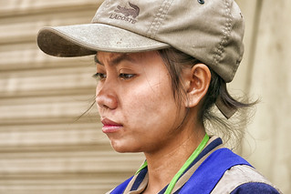 Vientiane woman, Laos