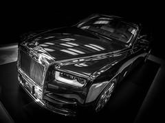RR (Dave GRR) Tags: toronto auto show 2018 rolls royce luxury luxurycar supercar monochrome chrome mono bw olympus