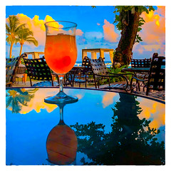 Rum Runner (Timothy Valentine) Tags: 2018 0418 hct reflection cocktail vacation fbpost caribbean sky rum sliderssunday bridgetown saintmichael barbados bb