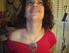 20170928 1801 - electrolysis - Clio - 16011836 (Clio CJS) Tags: 20170928 201709 2017 electrolysis electrolysis20170928 chin standing jewelry necklace skull skullnecklace shirt pinkshirt virginia alexandria clioandcarolynshouse bathroom clio
