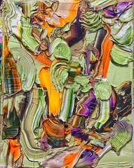 "#josephallenart ""Ravish Pale Saps To Anguish"" May 2018 10""x8"" #oiloncanvas #abstractpainting (josephallenart) Tags: oiloncanvas josephallenart abstractpainting"