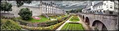 Bretagne - Morbihan - Vannes (denisbrumaud) Tags: bretagne morbihan vannes jardindesremparts remparts panorama panoramique denisbrumaud