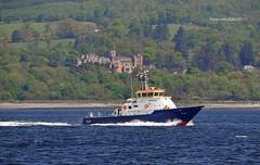 Smit Yare (Zak355) Tags: rothesay isleofbute bute scotland scottish navy royalnavy minesweeper minehunter ship shipping boat vessel riverclyde smityare training exercise