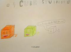 Cube studios - drawing by my son (cod_gabriel) Tags: cubestudios drawing dibujo dessin desenho disegno desen