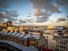 Sydney (Ry W) Tags: 2017 architecture australia blue building cityscape cruise hollandamerica newsouthwales sunset sydney therocks travel googlepixel