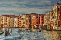 Tramonto sul Canal Grande (giannipiras555) Tags: venezia canale architettura colori tramonto sunset gondole travel vacanze turismo