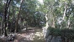 Kita maru gate vN _wde_LG (Hazbones) Tags: iwakuni yamaguchi yokoyama castle kikkawa suo chugoku mori honmaru ninomaru demaru wall armor samurai spear teppo gun matchlock map ropeway