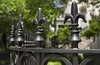 Fleur-de-lis iron fence (Light Orchard) Tags: savannah georgia ga historic history ©2018lightorchard bruceschneider fence fleurdelis flower lily flowers iron ornate garden