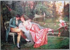 Flirtation (pefkosmad) Tags: jigsaw puzzle hobby leisure pastime used secondhand vintage complete