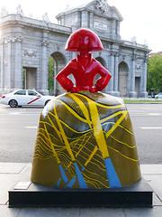 """Menina """"T4"""", de Antonio Azzato (Madrid) (Juan Alcor) Tags: antonioazzato t4 plazadelaindependencia menina meninas exposicion 2018 madrid españa spain iberia meninasmadridgallery"""