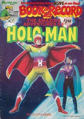 Holo-man Book And Record ( Peter Pan 1978 ) (Donald Deveau) Tags: holoman comicbook book record