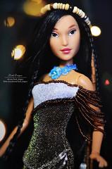 Pocahontas (Lindi Dragon) Tags: doll disney disneyprincess disneystore pocahontas 2012 handmade dress