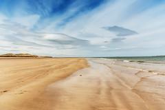 The Deserted Beach (Northern Skyline Photography) Tags: beach northumberland northumberlandcoast bamburgh bamburghbeach sand lowtide sea seaside