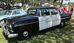 1955 Chevy Police Car (Bill Jacomet) Tags: keels and wheels concours delegance lakewood yacht club seabrook tx texas 2018 1955 55 chevy chevrolet police car