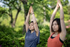Two women practicing yoga in public park (Apricot Cafe) Tags: img90689 adultsonly asia asianandindianethnicities canonef85mmf14lisusm healthylifestyle japan japaneseethnicity odaibatokyo relaxationexercise tokyojapan athlete beautifulwoman capitalcities copyspace day exercise flexibility friendship greencolor handraised happiness lifestyles lookingaway mindfulness nature odaibaseasidepark onlywomen outdoors people photography posing practicing publicpark realpeople smiling sport springtime stretching success teamwork togetherness traveldestinations twopeople vitality waistup women yoga youngadult