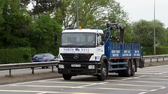DK06 TUA (Martin's Online Photography) Tags: mercedes axor truck wagon lorry vehicle freight haulage commercial transport a580 leigh lancashire nikon nikond7200