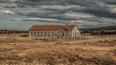 Abandoned Patagonian estancia (view full-screen) (Piotr_PopUp) Tags: abandoned estancia puntaarenas magallanes patagonia chile latinamerica southamerica decay ruraldecay rusty cloud landscape