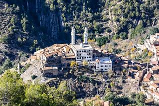 Village d'El-Goléa vu depuis Tizi Lesfah