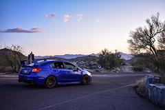 World Rally Sunset (sarahricebsn) Tags: subaru phoenix arizona wrx sunset southmountainpark