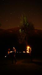 Fire moment (brice2018) Tags: arbre sky ciel etoile stars fire effect fx night natureshot image photo photographie natureimages landscape explore exploremore orange old 7dwf moon new bw painting pentax eos sony alpha7r canon nikon lumix nice love nature naturelover evolution